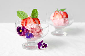 Nicecream fragola menta e viola